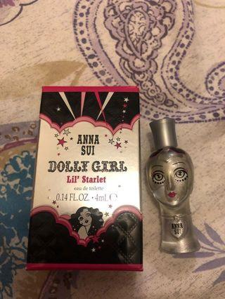 Anna Sui dolly girl edt 香水4ml