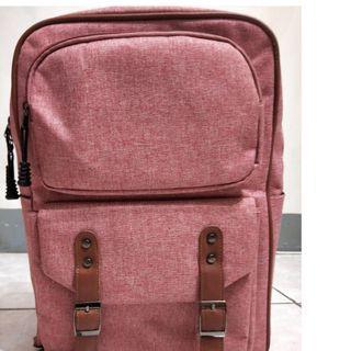 韓版 防水 雙扣 電腦包 後背包
