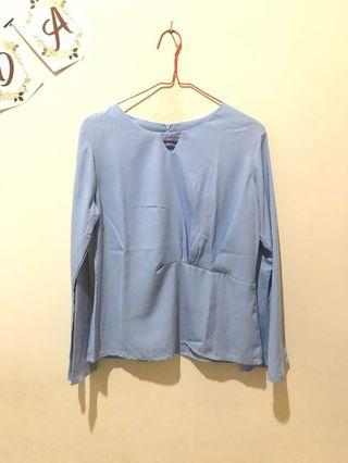 Baju Biru, Blue Top