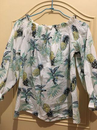 可愛鳳梨🍍上衣