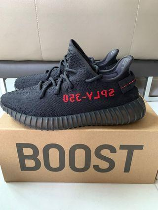 17344a022 yeezy boost 350 v2 bred