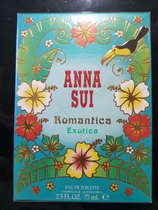 ANNA SUI Romantica Exotics 75ml 全新