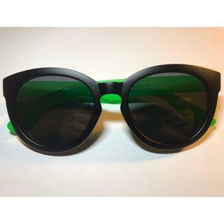 韓國設計偏光鏡磨沙黑色太陽眼鏡(S6)