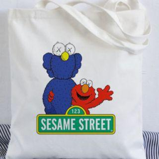 Cute Sesame Street Tote Bag