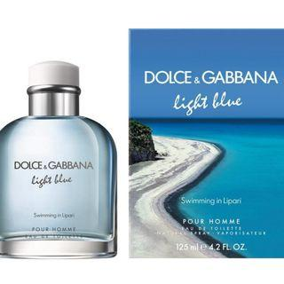 Dolce And Gabbana Light Blue - Swimming in Lipari