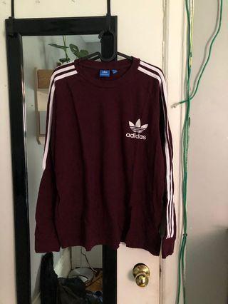 Adidas Originals Mens Long sleeve sz L