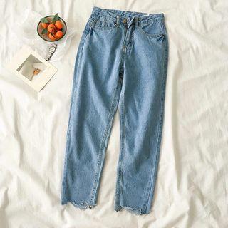 Korean style Blue Jeans