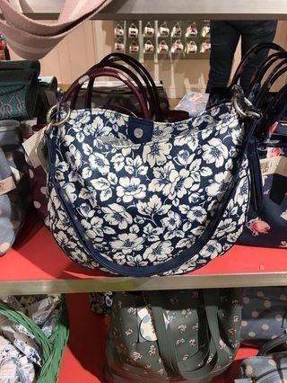 Cath Kidston Didworth Floral Printed Hobo Bag