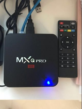 T9 4G ram + 32G rom with blue tooth  android tv box
