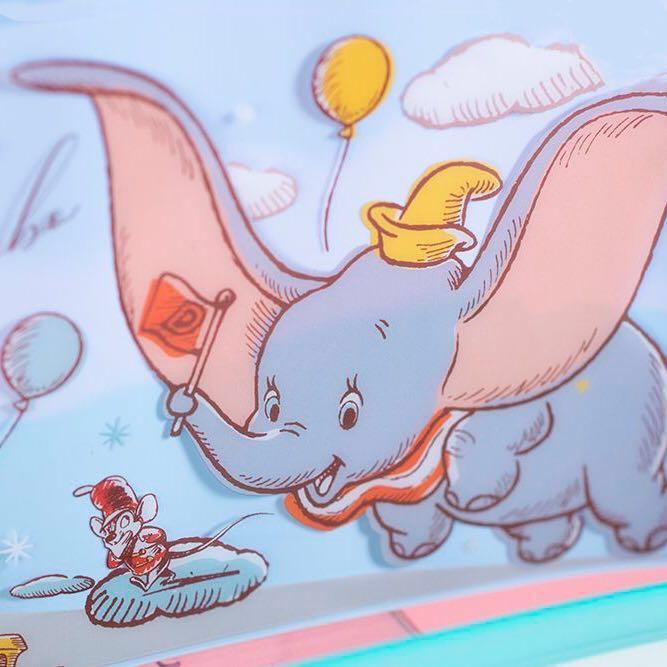 香港7仔 小鹿斑比 小飛象隨行袋 長方形隨行袋 童夢隨行