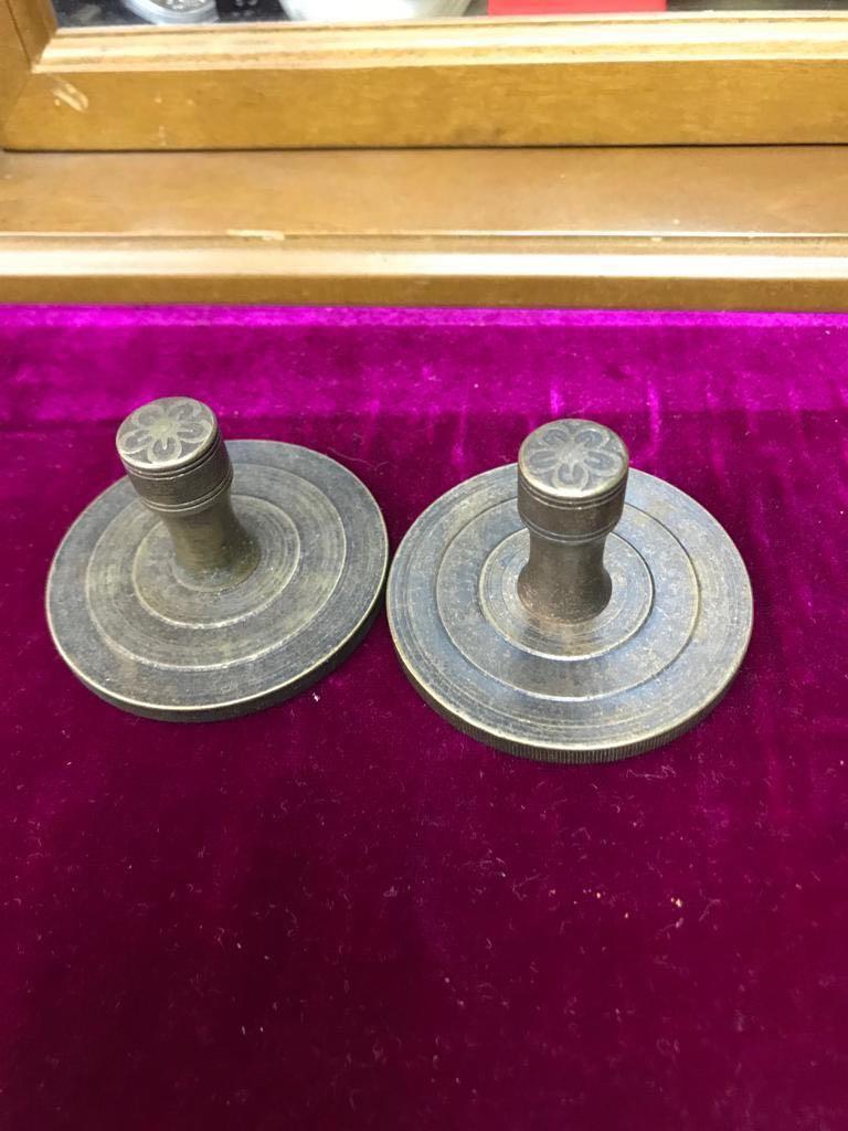 銅製造的印中有印