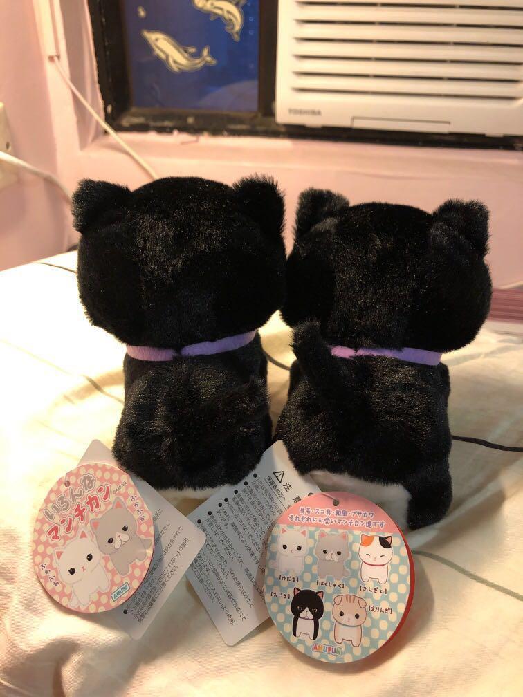 日本小黑貓 (一對)