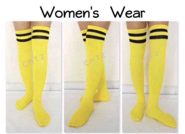 59d79692453   CATZ   Striped Knee High Socks Thigh High Over The Knee Socks Football  Socks Soccer Socks Cheerleader Socks Sports Socks
