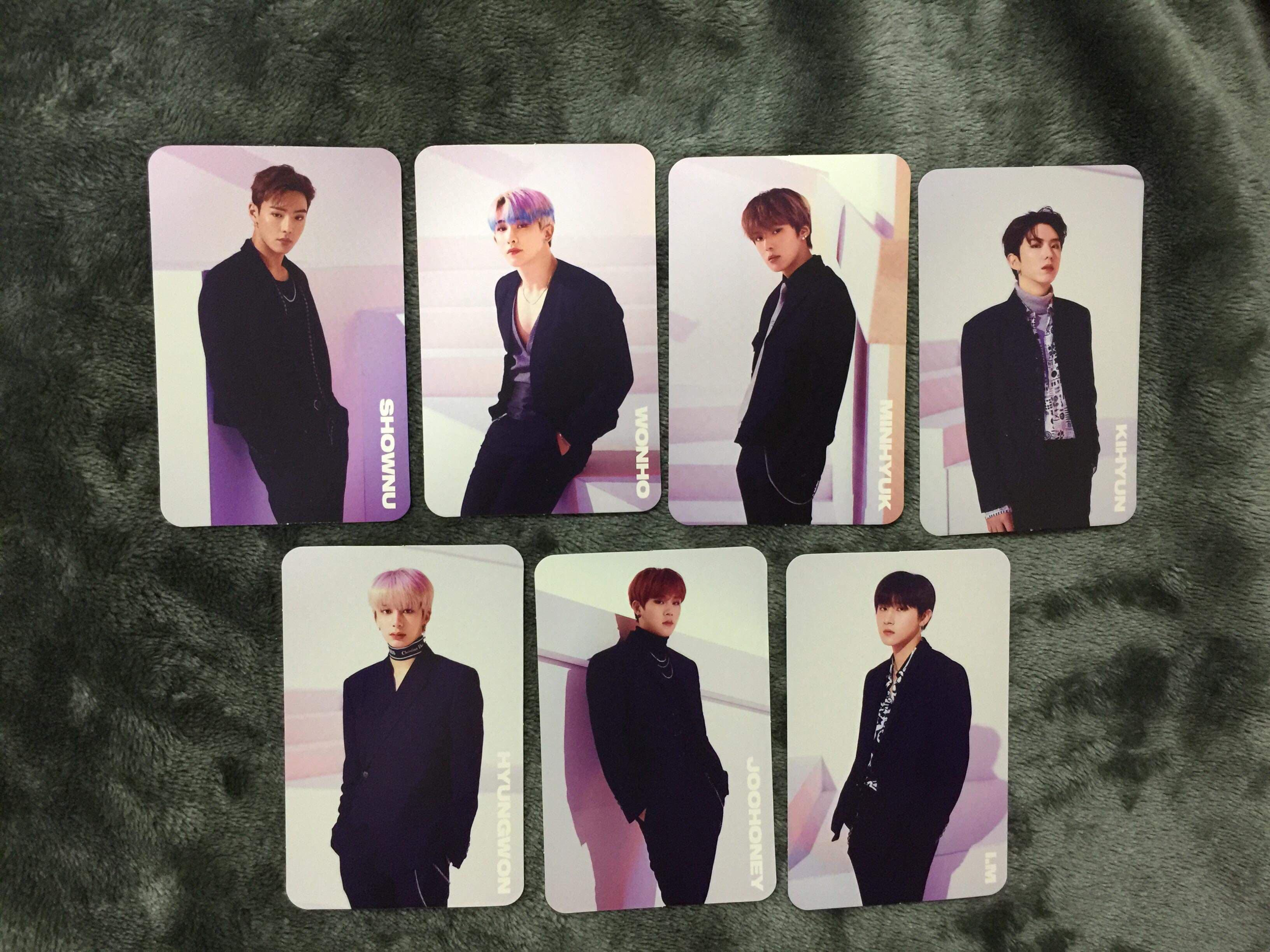 [ incl pos ] MONSTA X SHOOT OUT JAPAN COMEBACK PHOTOCARD SET