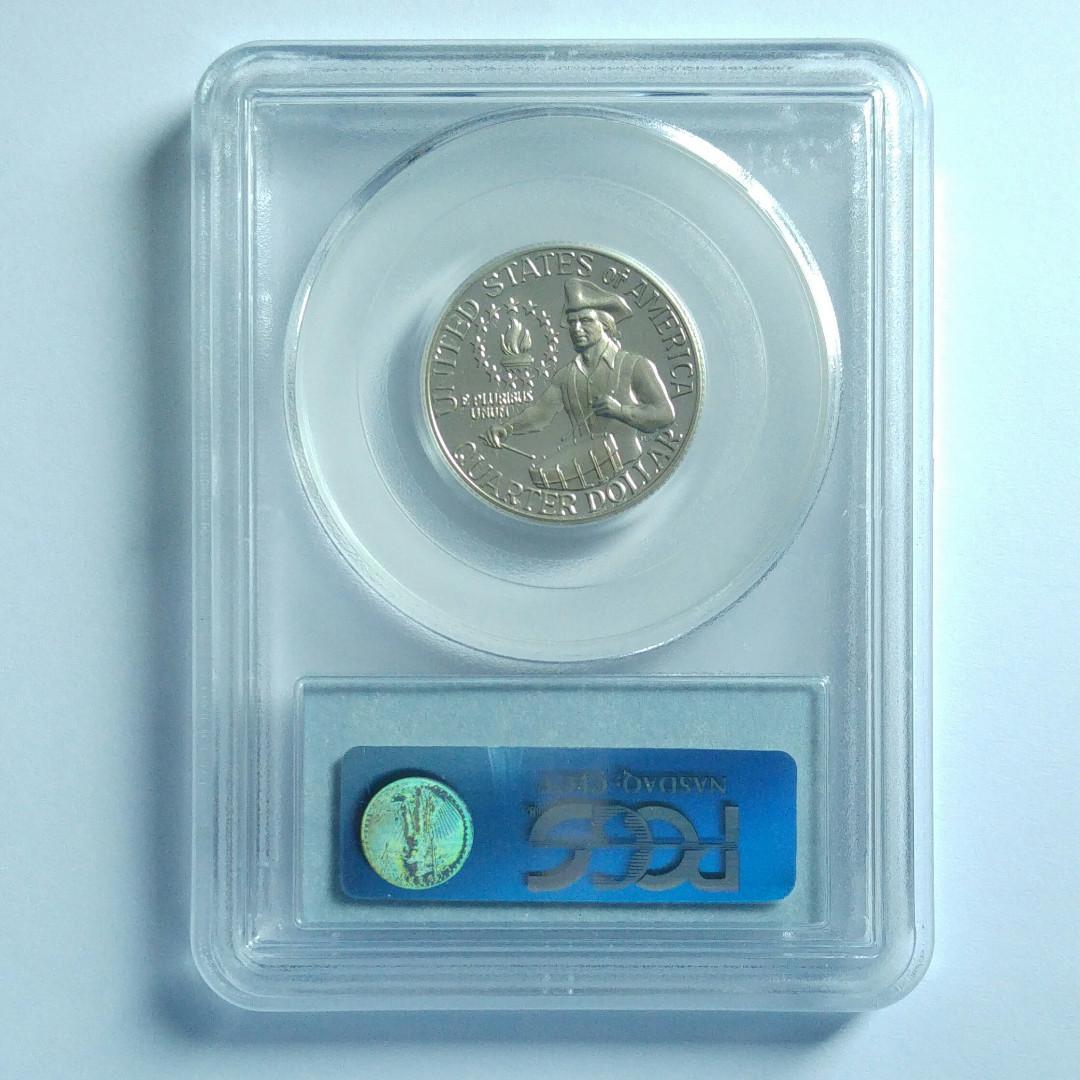 [評分: PR69DCAM Silver] 1976-S 美國華盛頓25美分 精鑄銀幣一枚 (13-0)