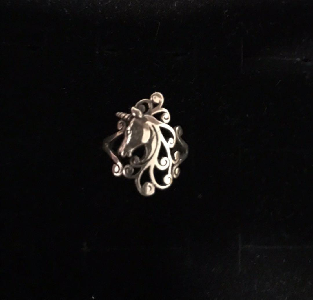 A 925 Silver Unicorn Ring From England (Free Shipping!)