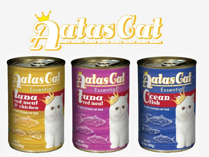 Aatas 400 Grams canned cat food