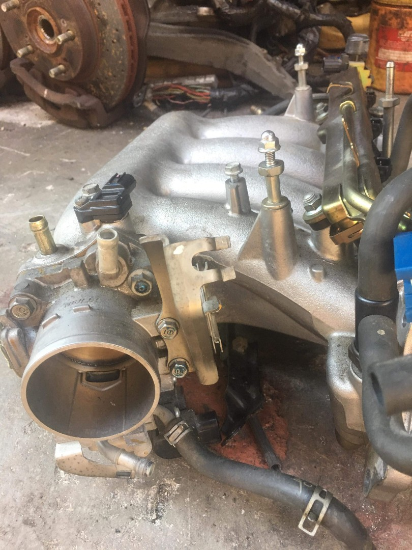 Accord Euro r cl7 rbc intake manifold and throttle body
