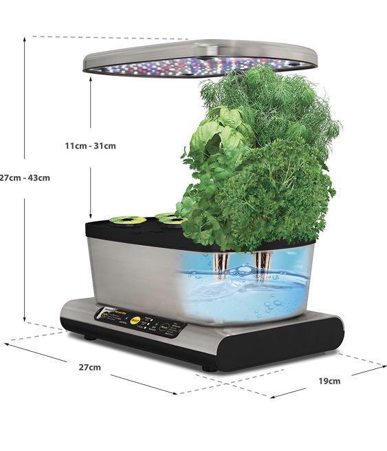 Aerogarden Miracle-Gro Harvest Elite with Gourmet Herb Seed Pod Kit