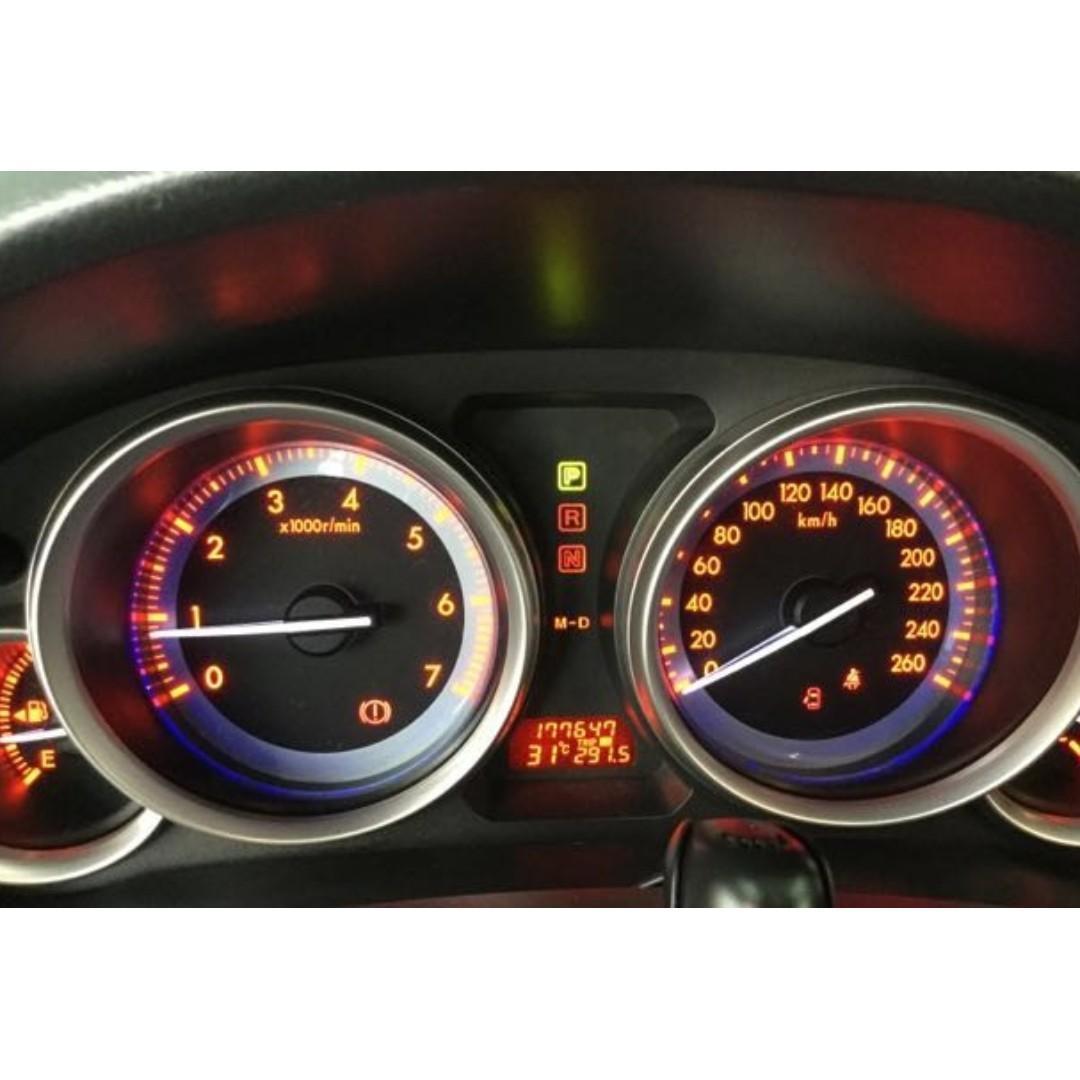 【Anna車庫】MAZDA  MAZDA6 2009純潔白2.5 豪華大器的外觀,好開省油,整體給人平穩俐落感,給予乘客寬闊的乘坐空間