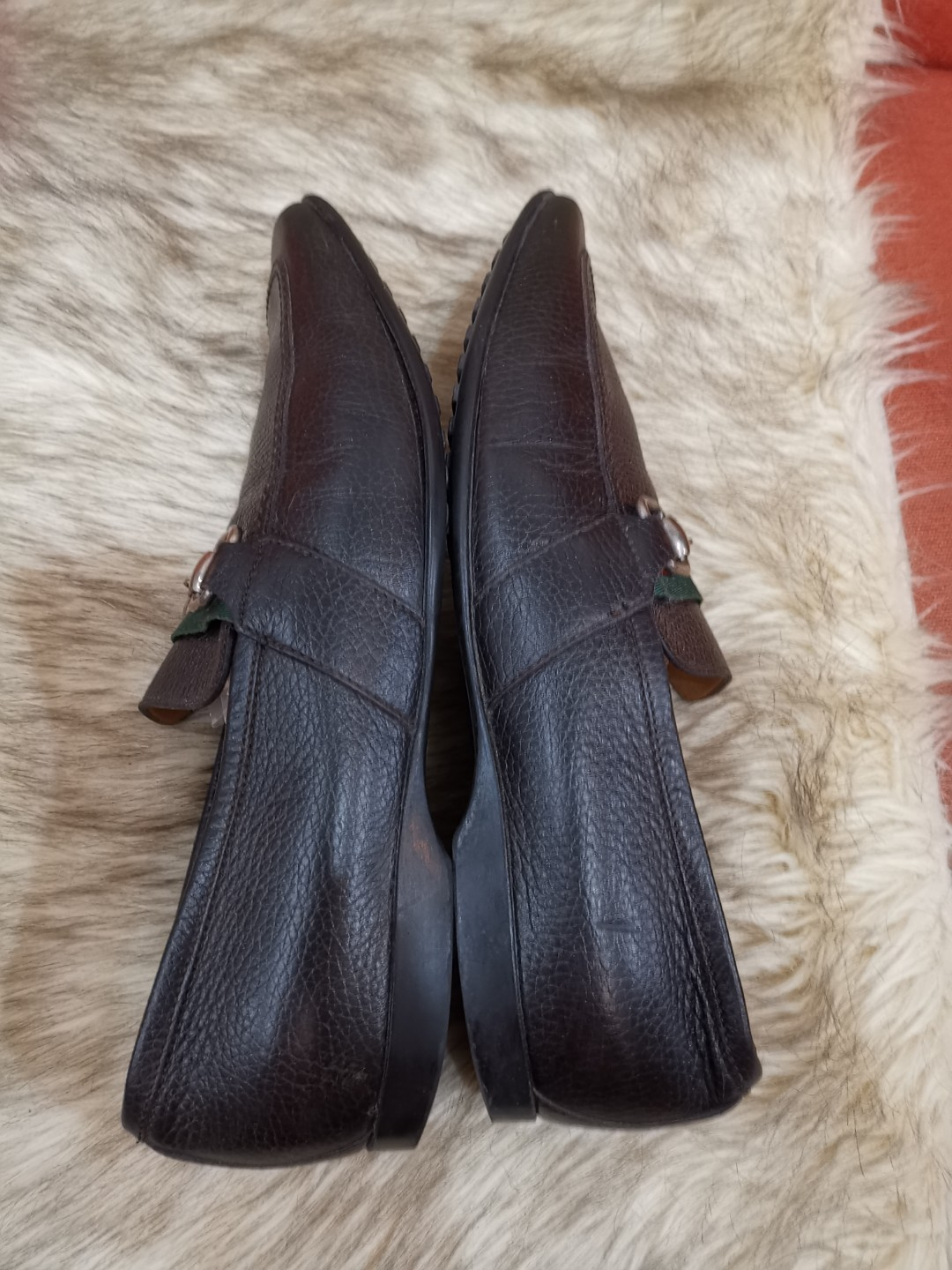 3dc2152b2 Authentic Gucci Horsebit Mens Shoes size 40.5 also fits to size 9 to ...