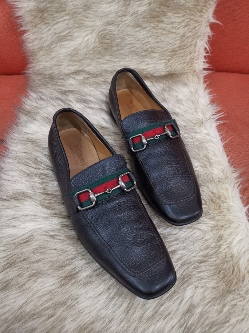 9a4cd890e51 Authentic Gucci Horsebit Mens Shoes, size 40.5 also fits to size 9 to 9.5  mens size