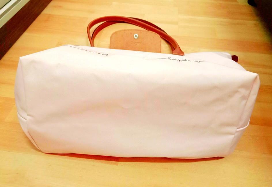 Authentic Longchamp Limited Edition Le Pliage Bird Cage Be Happy Bag In Rosepal #GayaRaya