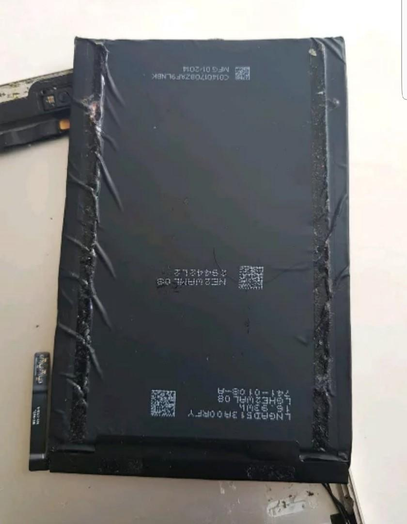 Baterai iPad Mini 1 Original bawaan iPad