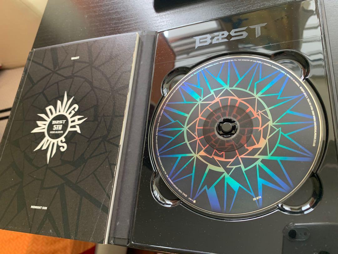 BEAST/B2ST/HIGHLIGHT - Midnight Sun (5th Mini Album)