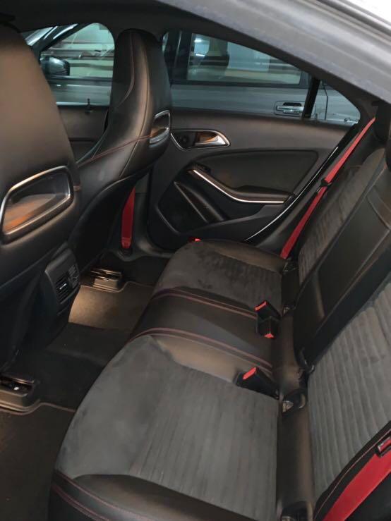 Benz CLA250 sport plus 2015 白色