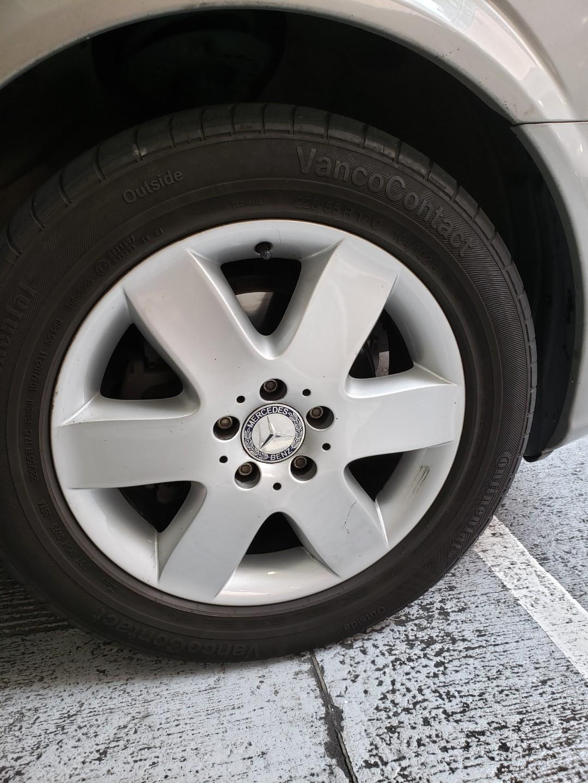Benz Vito 呔軨連17吋輪呔