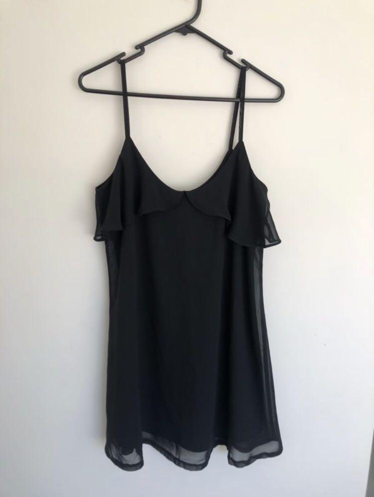 Black dress - XS