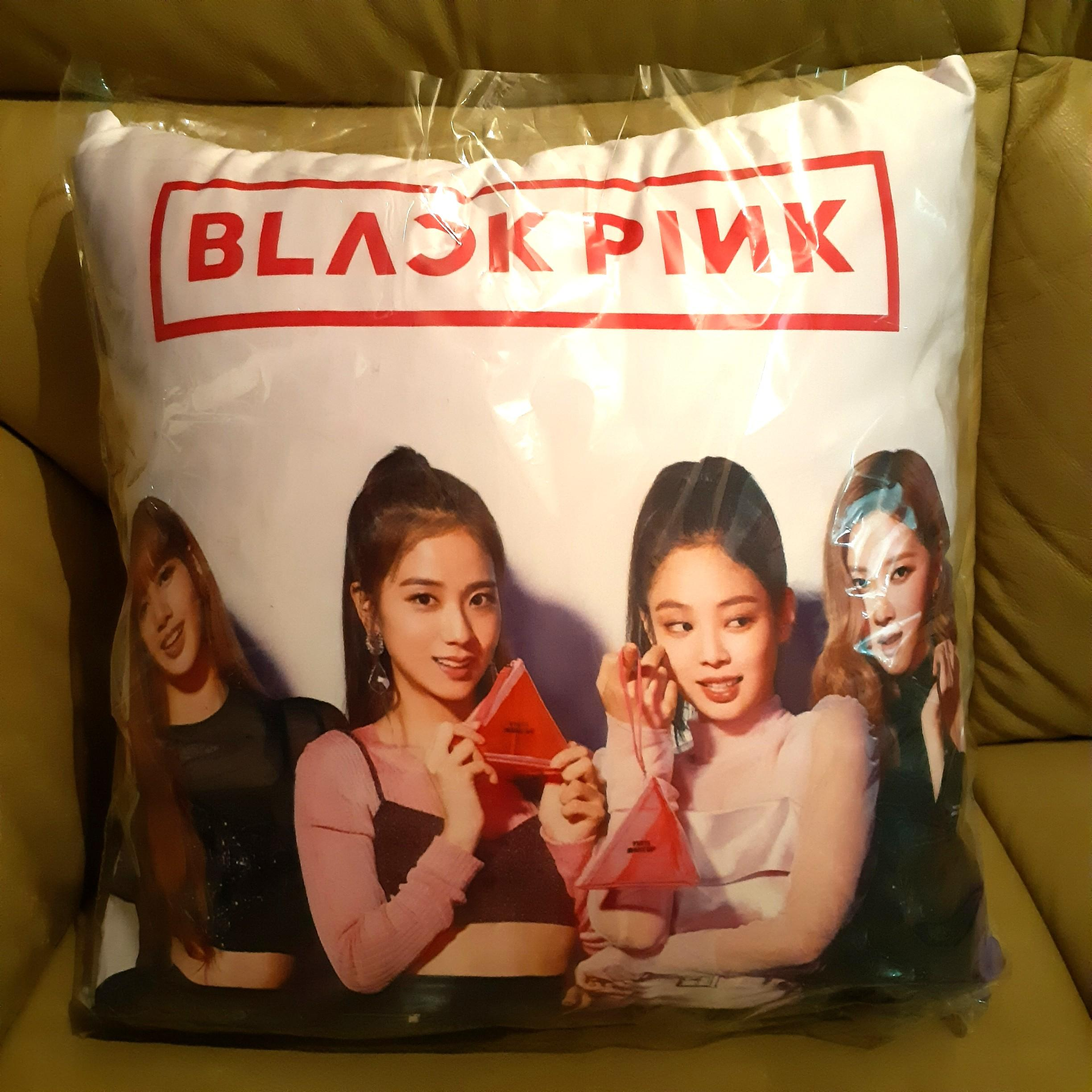 Blackpink's Pillow! **New & Nicely Double-Sided Printed**