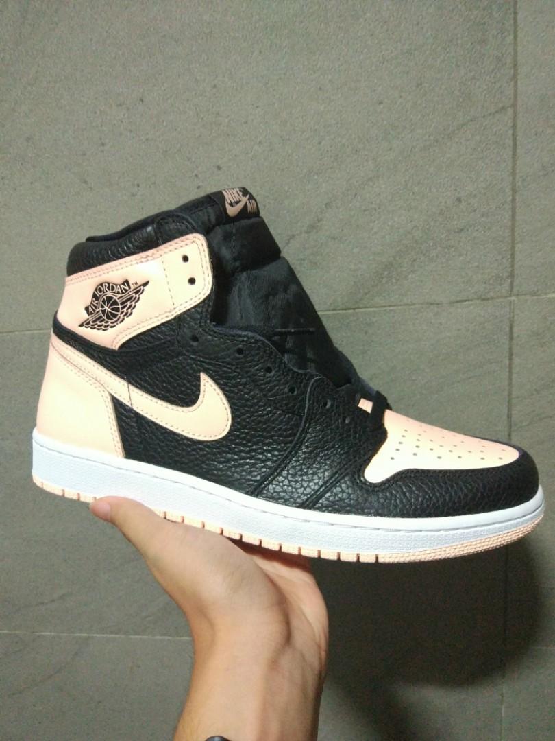 a98aa573 BNIB] Jordan 1 Retro High Black Crimson Tint, Men's Fashion ...