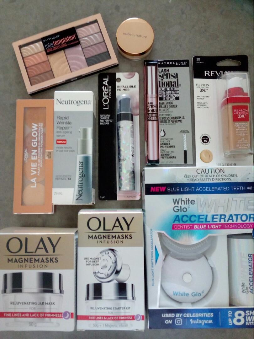 Brand new over $400 + worth of makeup & skincare products.