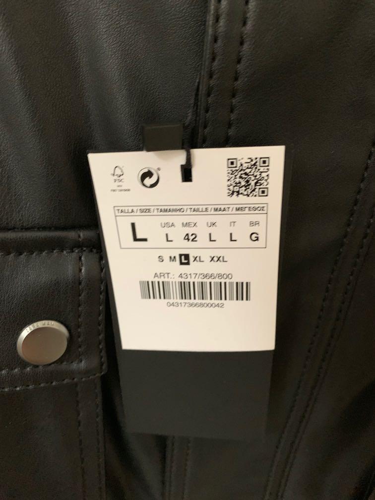 Brand New Zara Jacket Black L