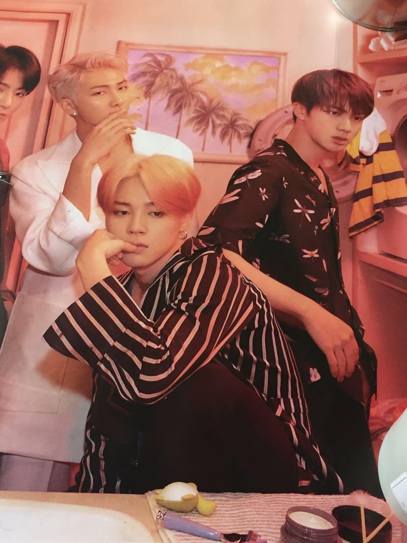 BTS - Map of The Soul: Persona (Version 2) official poster