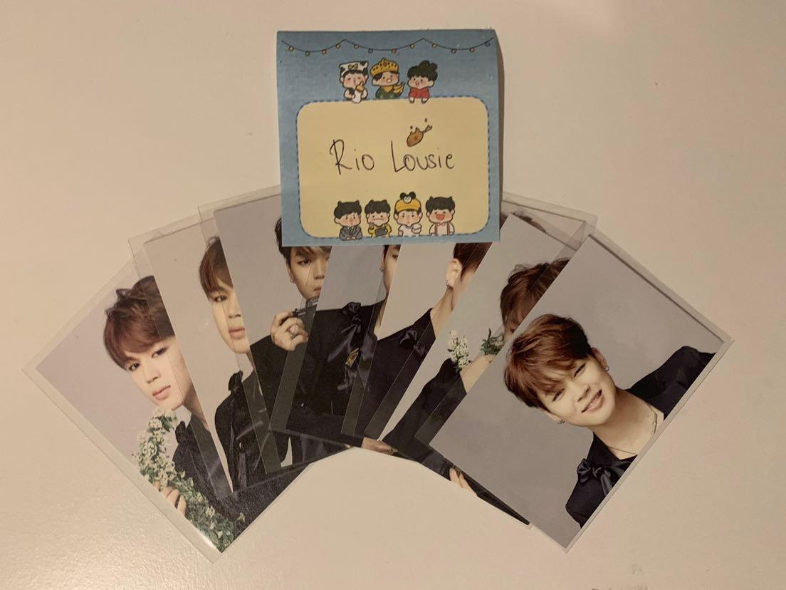 BTS HYYH Live on Stage Epilogue 2016 Mini Photocards Complete Set