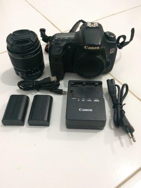 Canon eos 60D - 18 MP (NEGO)