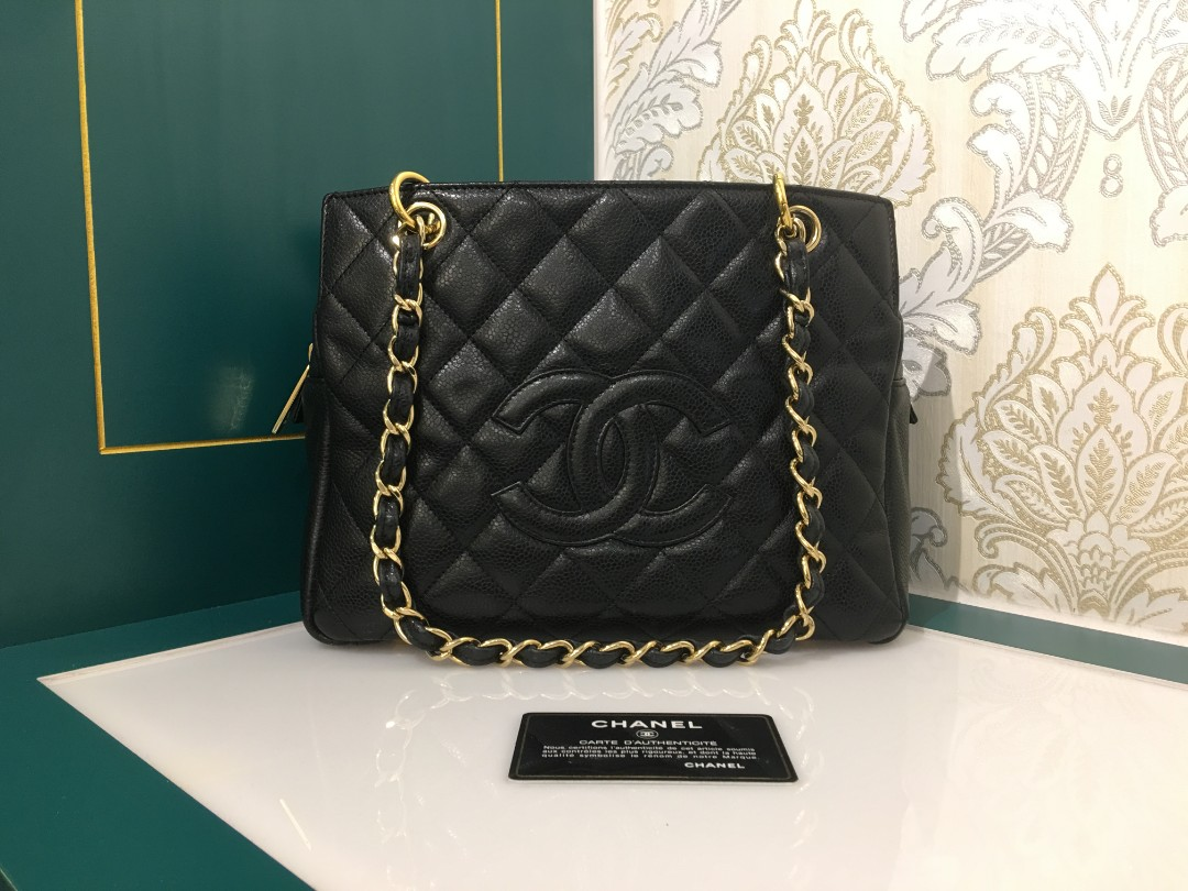 4f525c3c78bd2d Chanel PTT Petite Timeless Tote Black Caviar with GHW, Luxury, Bags ...