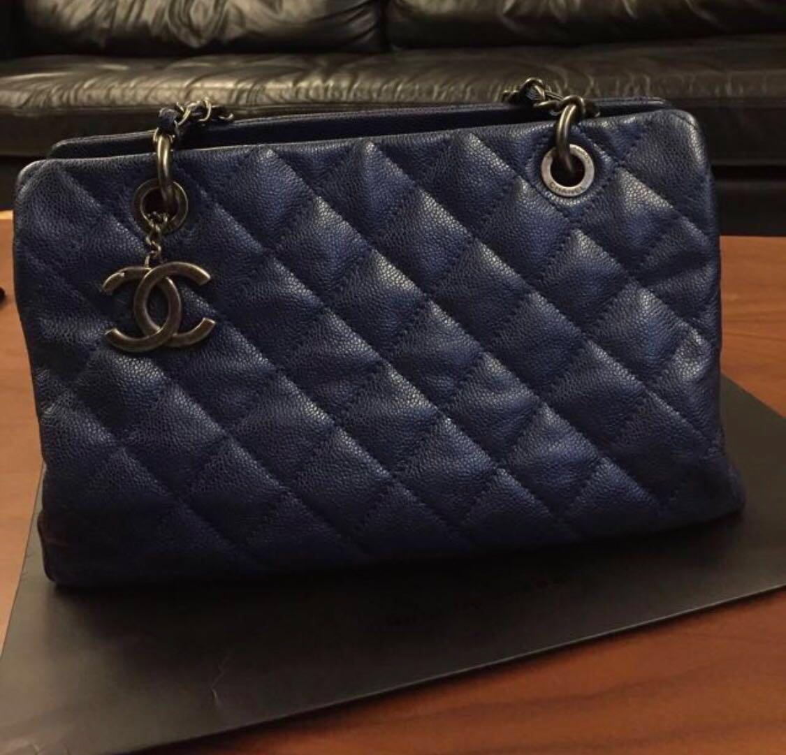 e8d66b55ae2175 Chanel Tote Bag, Luxury, Bags & Wallets, Handbags on Carousell