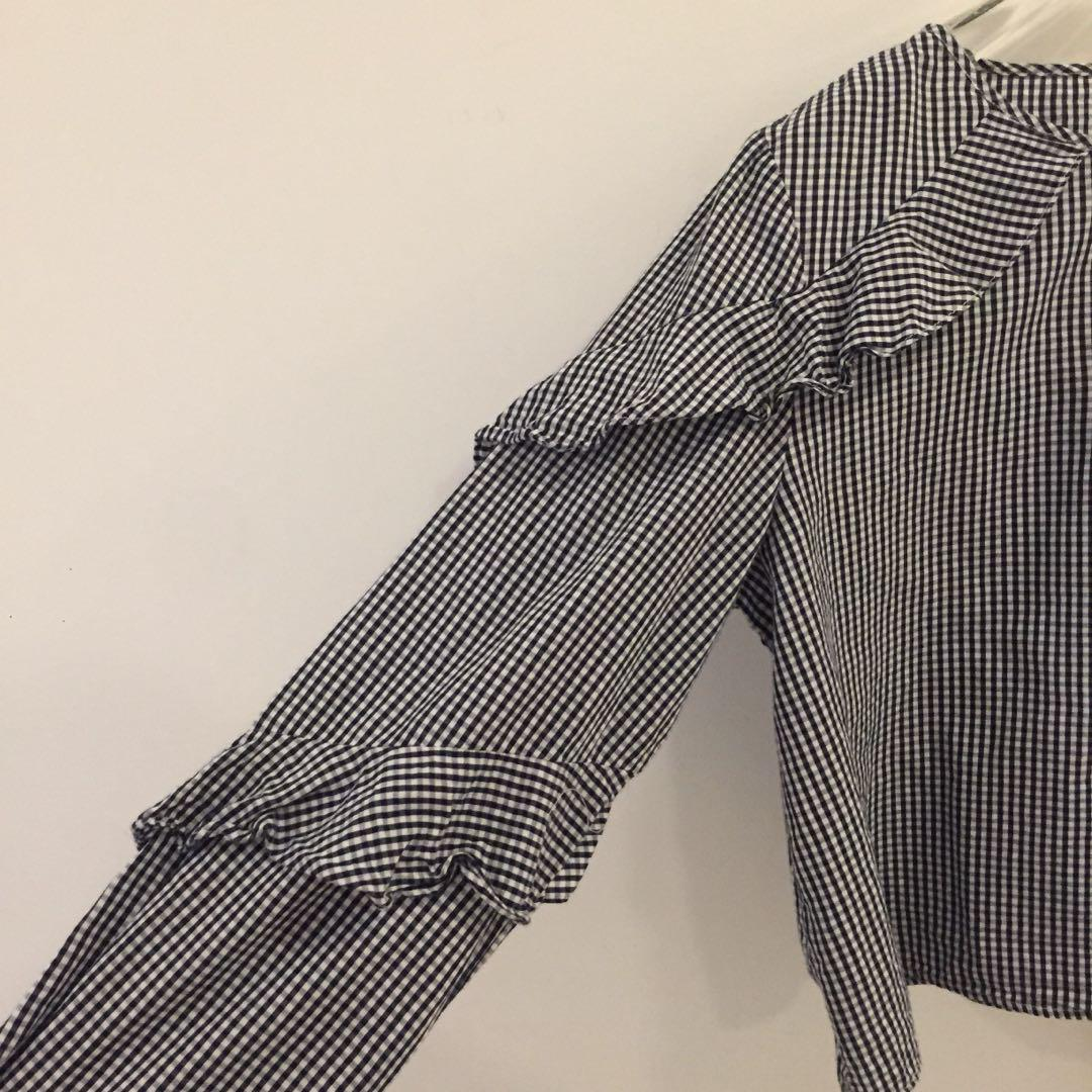 Checkered Top / Blouse