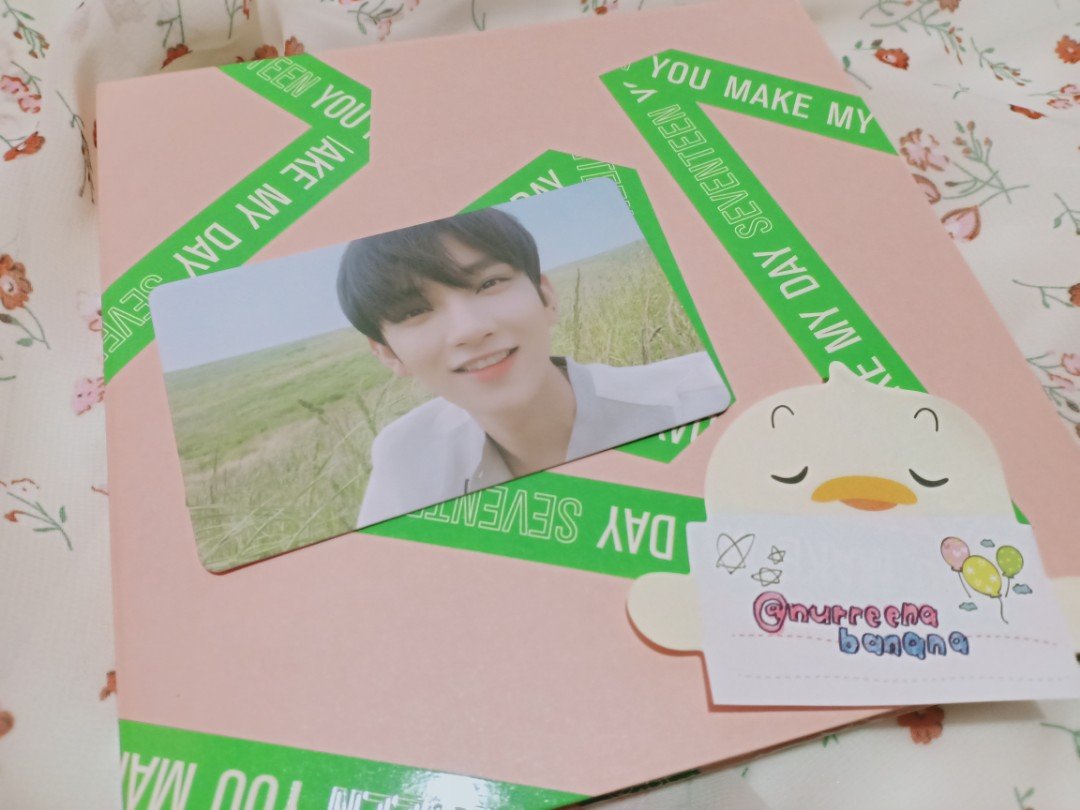 [CLEARANCE] SEVENTEEN YOU MAKE MY DAY/DAWN OFFICIAL PHOTOCARDS