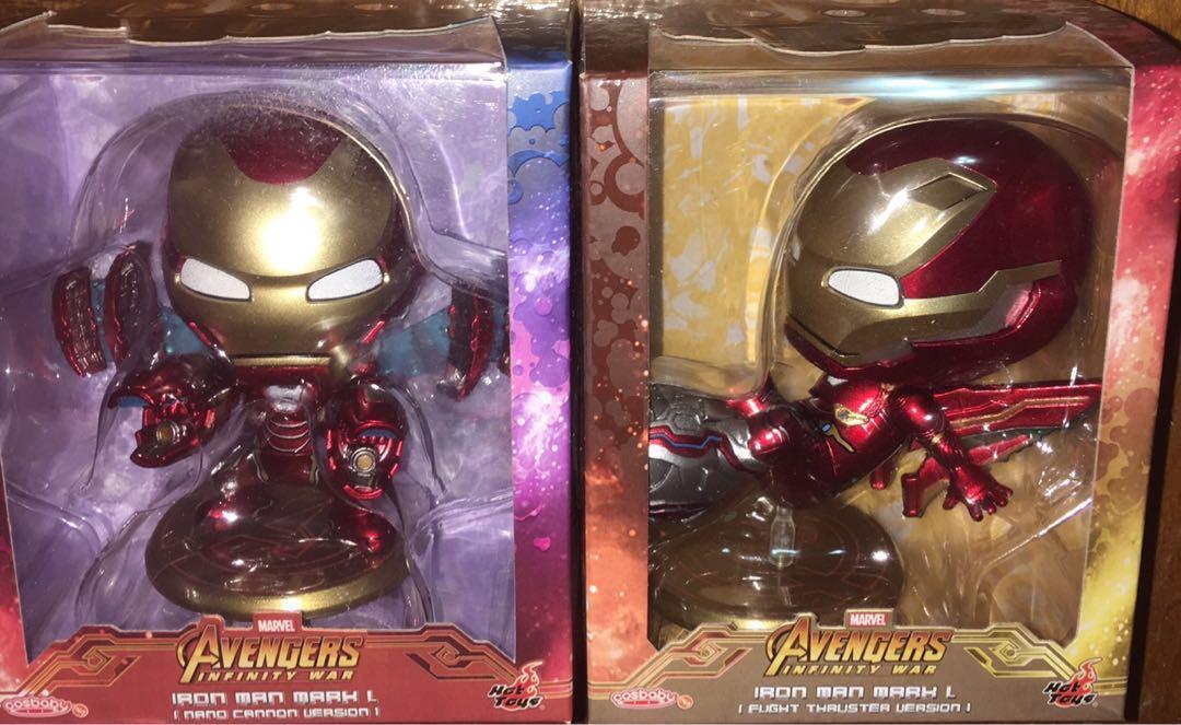 Cosbaby iron man mark L nano cannon version flight thruster version avengers infinity war endgame marvel Tony Stark