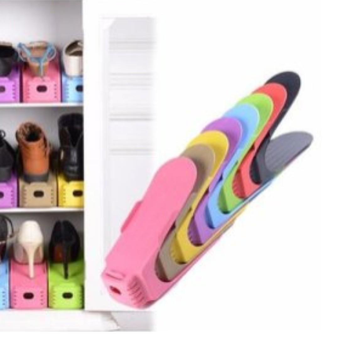 Creative Happy Shoe Rack 鞋架 $65 for 8pcs