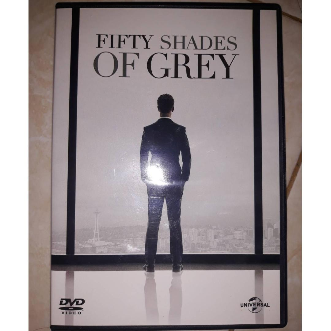 DVD Original Fifty Shades Of Grey