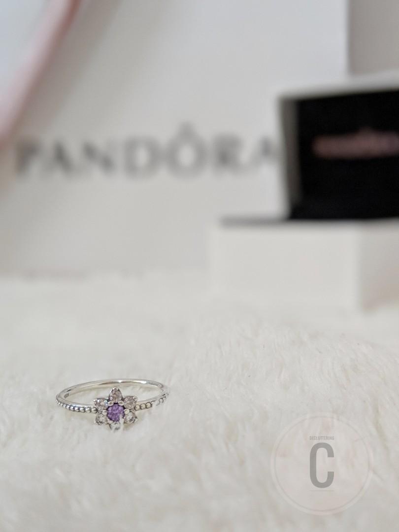 7641bec052f74 forget me not Pandora ring