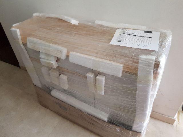 Last Piece! Gorgeous Wooden Shoe Cabinet Organizer-93cm