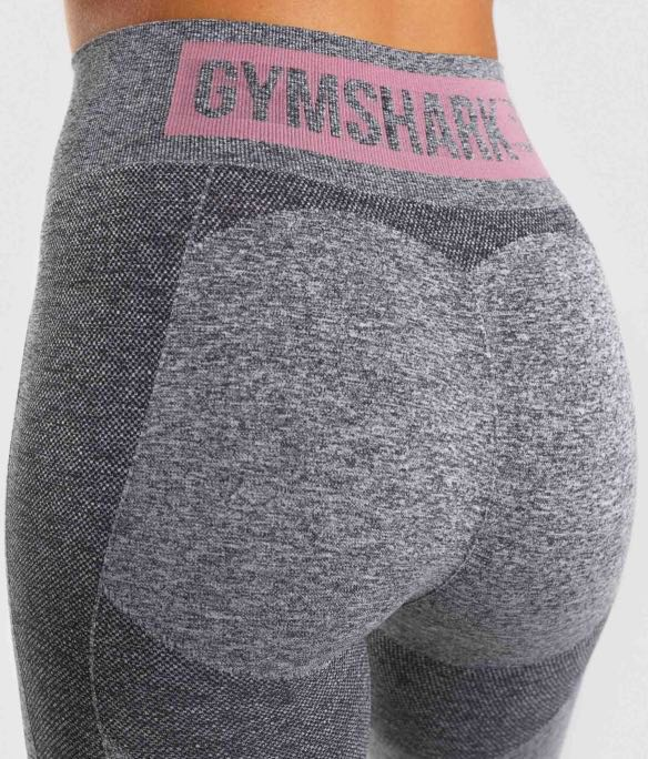 6d278697ba5 Gymshark High Waisted Flex Leggings Marl/Dusky Pink, Sports, Sports ...