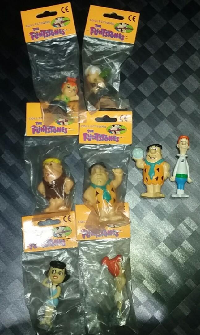 HANNA BARBERA Flintstone toy Figures
